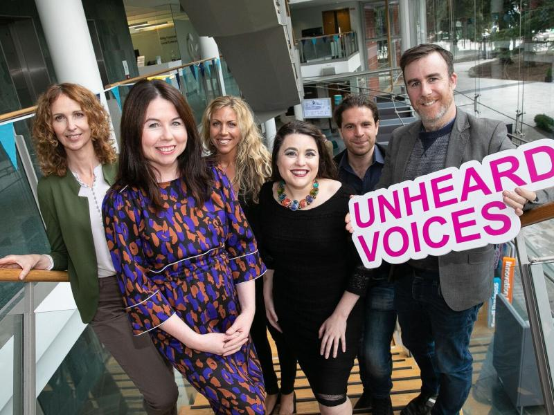 Unheard Voices launch