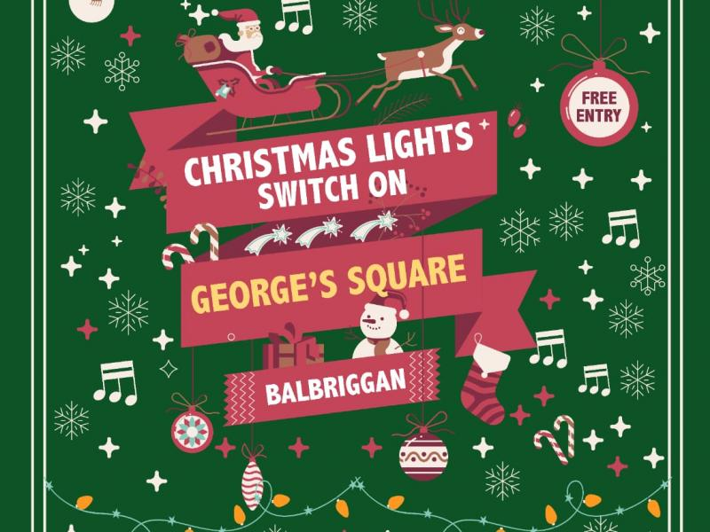 Christmas lights Balbriggan